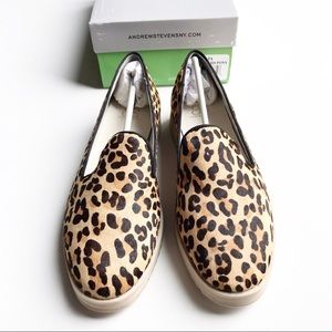 Andrew Stevens Shoes - NWB Andrew Stevens Zinnia Leopard Platform Shoe 9